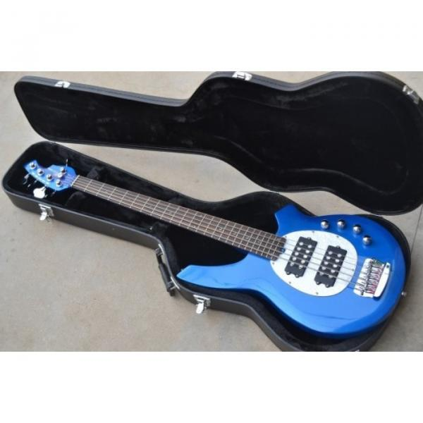Custom Shop Blue 5 String Bongo Bass Musicman StingRay