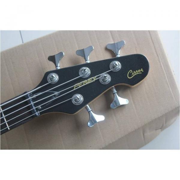 Custom Shop Burgundyglo Peavey Cirrus 5 String Bass