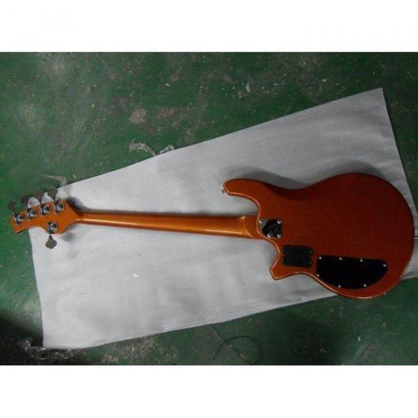 Custom Shop Bongo Orange 5 Strings Passive Pickups Bass