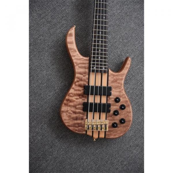 Custom Shop 5 String 24 Frets Electric Bass