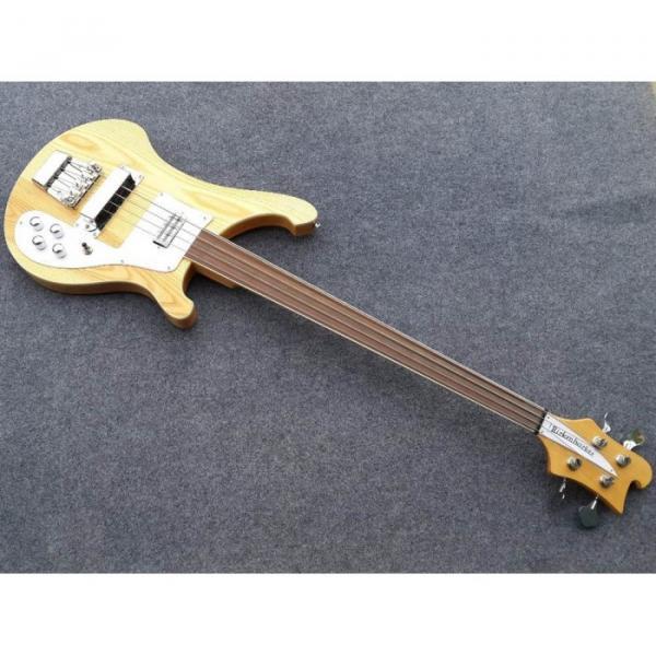 Custom Shop 4003 Ash Wood Naturalglo Fretless Bass