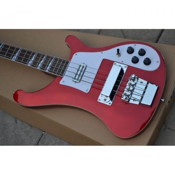 Custom Rickenbacker 4003 Red Bass