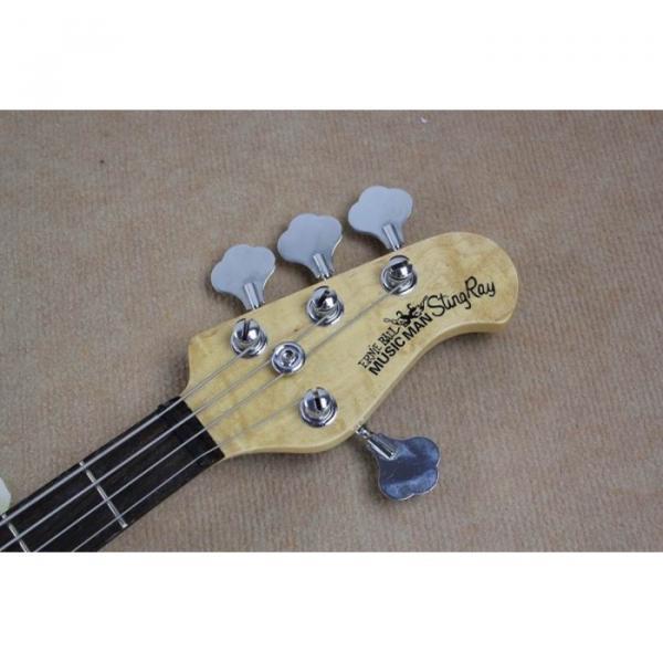 Custom Purple Music Man Sting Ray 4 String Bass
