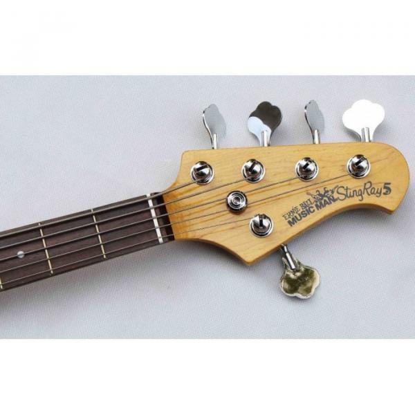 Custom Music Man Metallic Green 5 String Ernie Bass