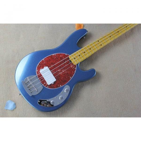 Custom Music Man Metallic Blue StingRay Bass