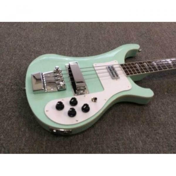 Custom Made Sea Foam Green 4003 4 String Bass