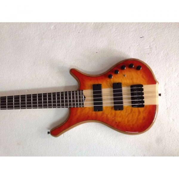 Custom Mayones Built 6 String Sunburst Bass
