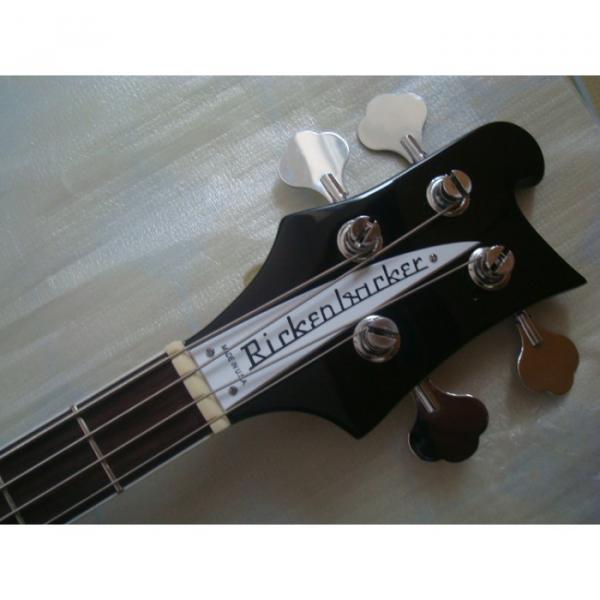 Custom Jetglo 4003 Rickenbacker Black Bass