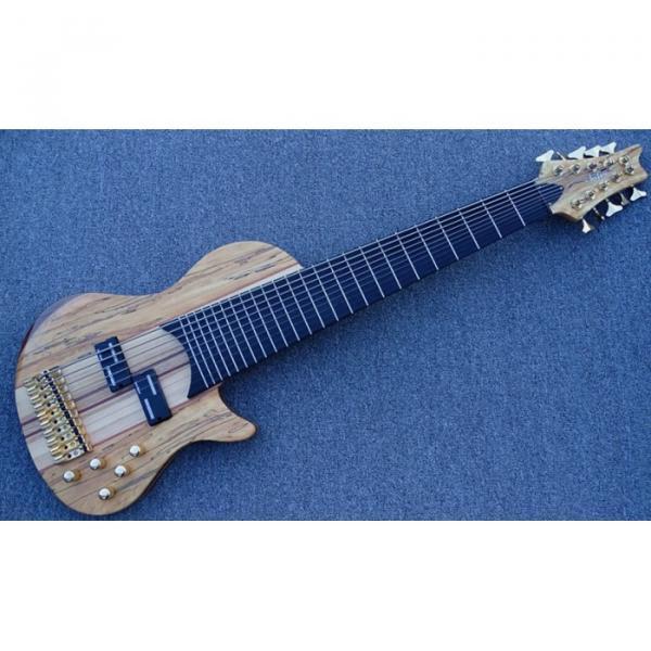 Custom Shop Neck through Wilkson Tuner Tonemaster Active pickup 10 String Bass