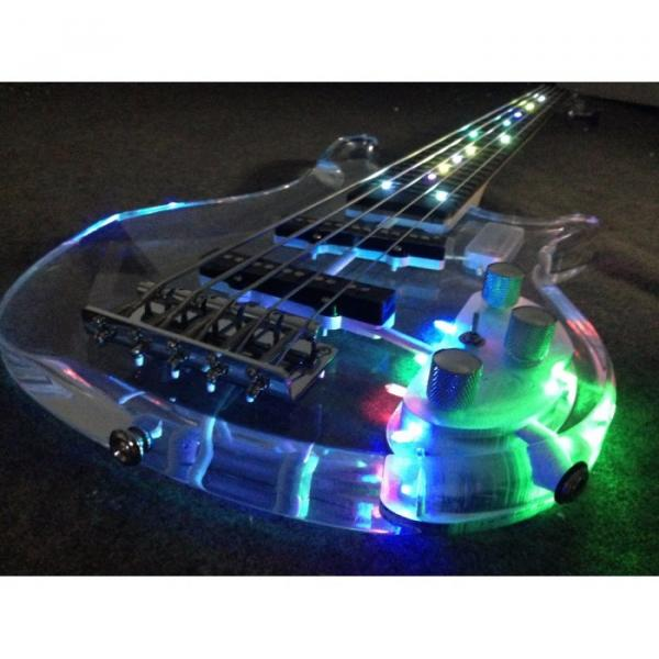 Custom Shop H&S Sequoia 5 String Bass Acrylic LED