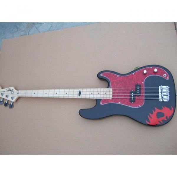 Custom Shop Fender Black Squier Bass Special