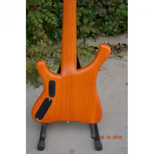 Custom Shop 5 String Amber Honey Finish Bass