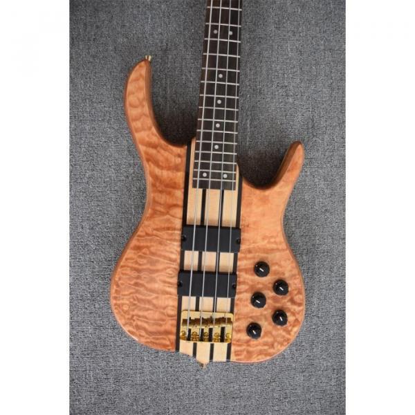 Custom Shop 4 String Ken Smith Natural Bass