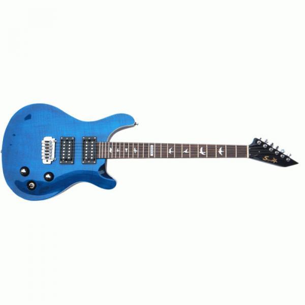 The Top Guitars Brand SPD F7 Whale Blue Electric Guitar