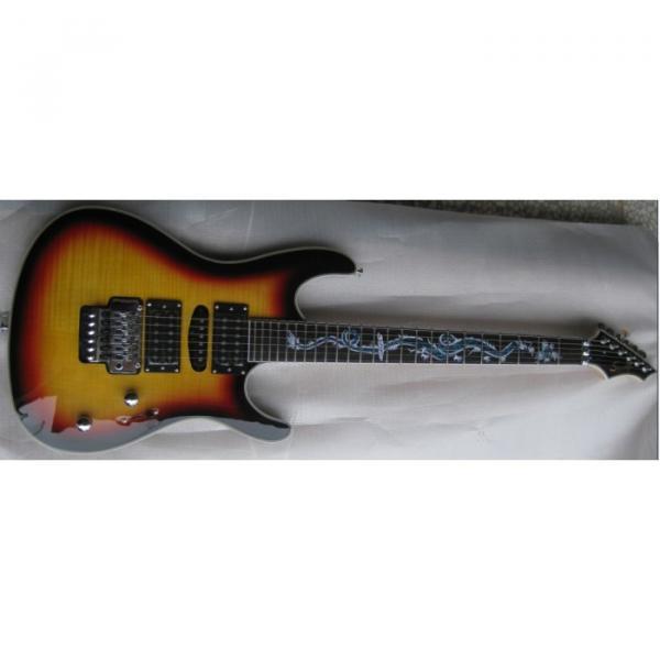 The Top Guitars Brand SDT900D MultiColor Electric Guitar