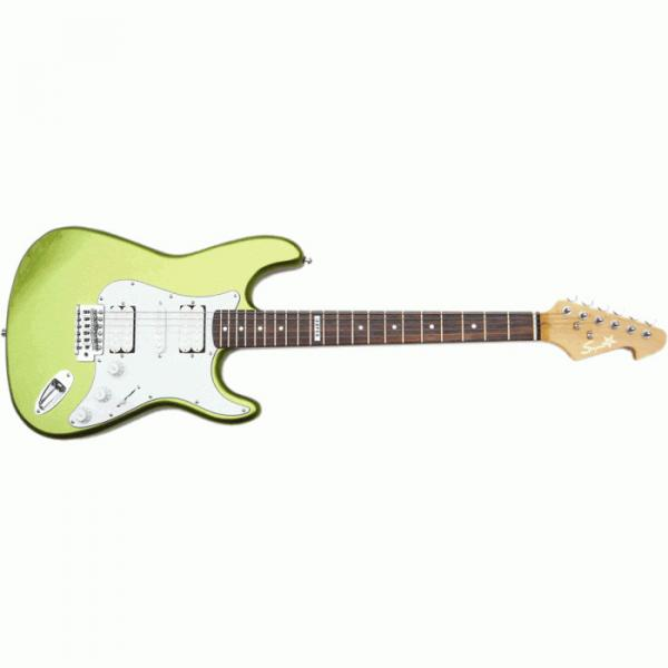 The Top Guitars Brand Green SST 212 Design Electric Guitar
