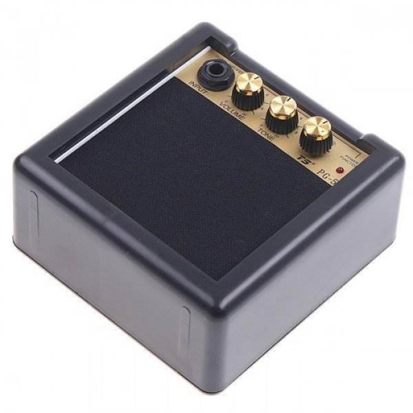 Mini Electric Guitar Amp Amplifier PG 5 5W 9V