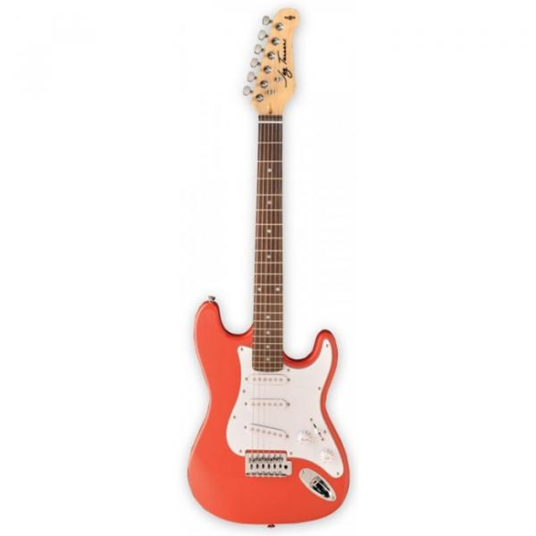 Jay Turser 30 Series 3/4 Size Electric Guitar Metallic Red