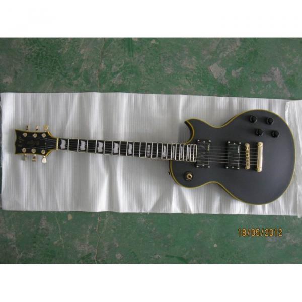ESP Matt Finish Black Custom Electric Guitar