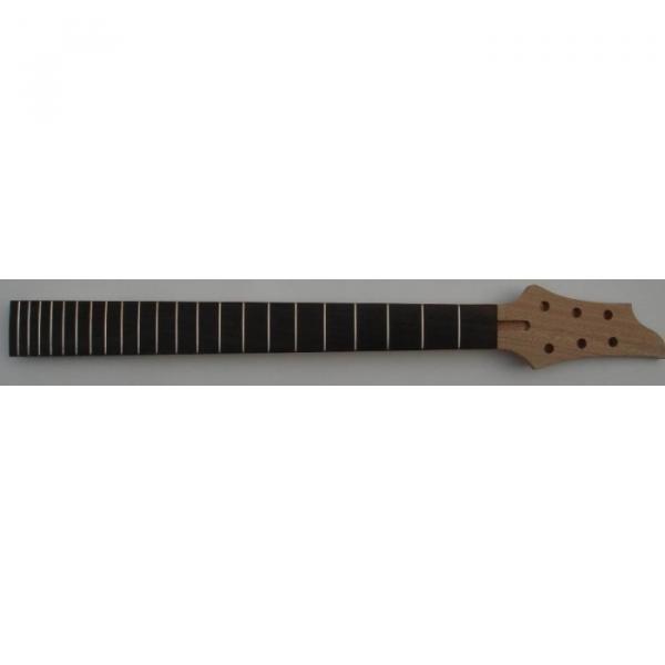 Ebony Wood Fingerboard Unfinished Electric Guitar Neck