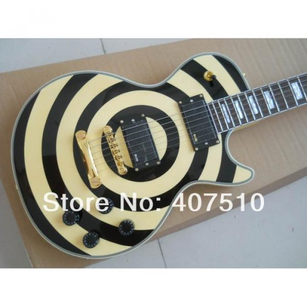 Custom Shop Zakk Wylde Bullseyes Electric Guitar