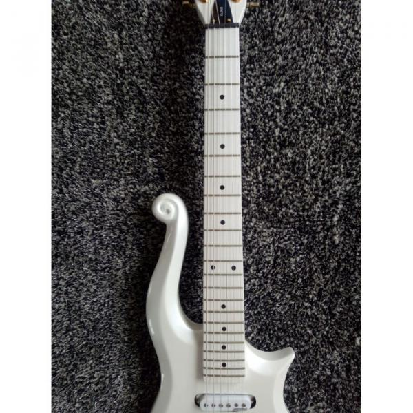 Custom Shop White Prince 6 String Cloud Electric Guitar Left/Right Handed Option