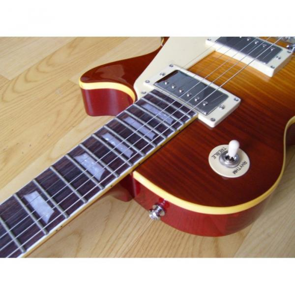 Custom Shop Tiger Maple Top Electric Guitar Bigsby Tremolo