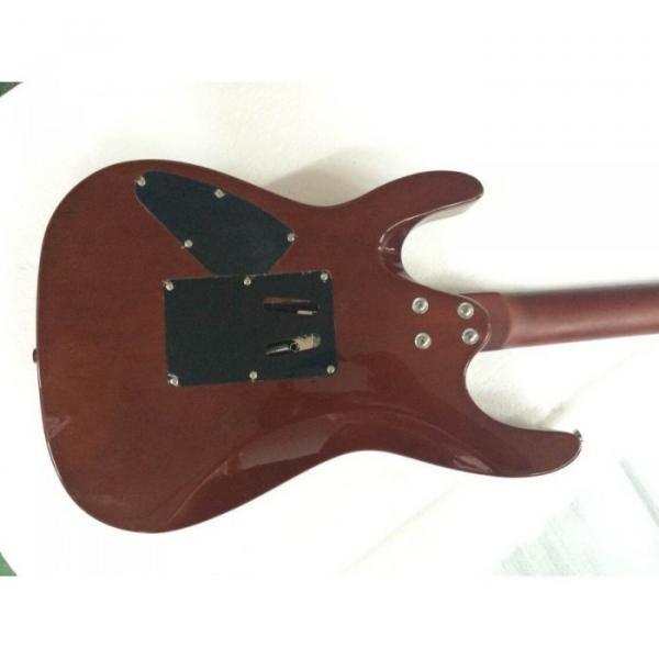 Custom Shop Suhr Flame Maple Top Transparent Blue Electric Guitar