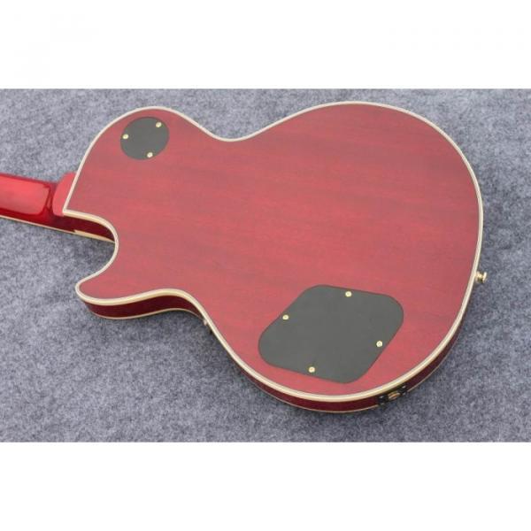 Custom Shop Standard Tiger Maple Top Red Wine Electric Guitar