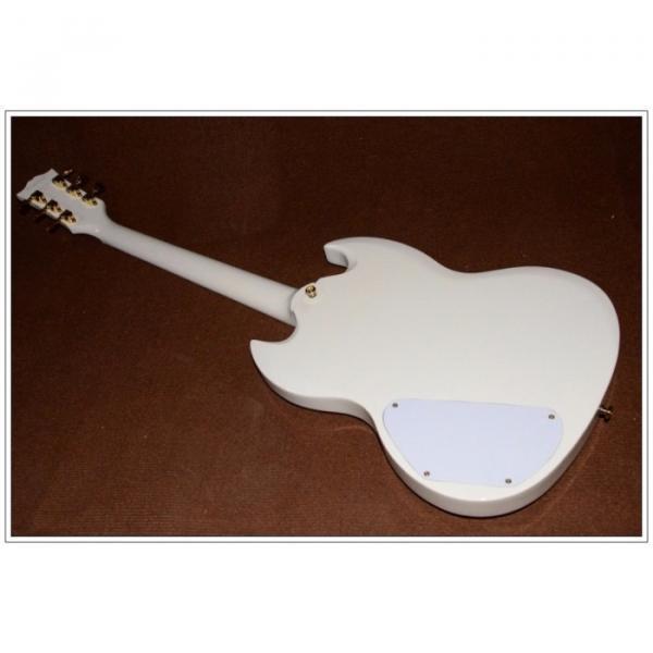 Custom Shop SG Custom Reissue VOS Electric Guitar Classic White