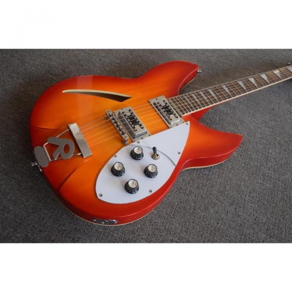 Custom Shop Rickenbacker 330 Fireglo Electric Guitar Neck Through Body
