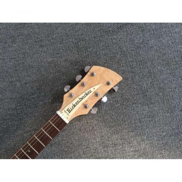 Custom Shop Rickenbacker 325 Natural Alder Shade Electric Guitar