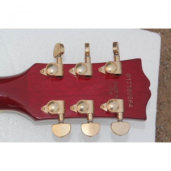 Custom Shop Red Wine guitarra Electric Guitar