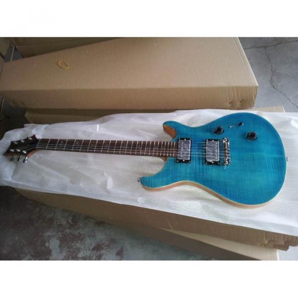 Custom Shop PRS Whale Blue Maple Top 24 Frets Electric Guitar