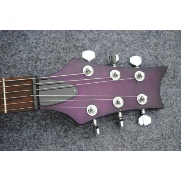 Custom Shop PRS Purple Led Light Fretboard 22 Frets Electric Guitar