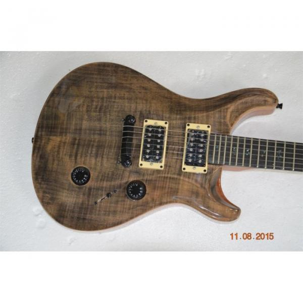 Custom Shop PRS Brown Maple Top Electric Guitar