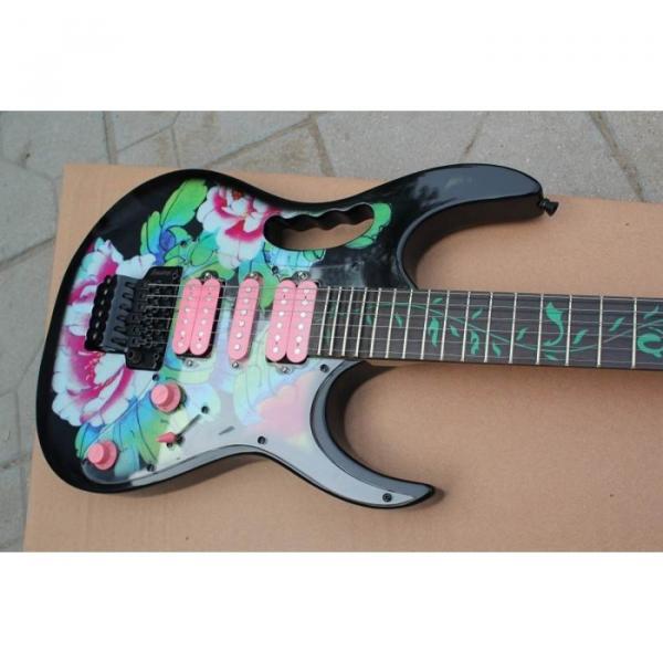 Custom Shop Peony Flower Electric Guitar