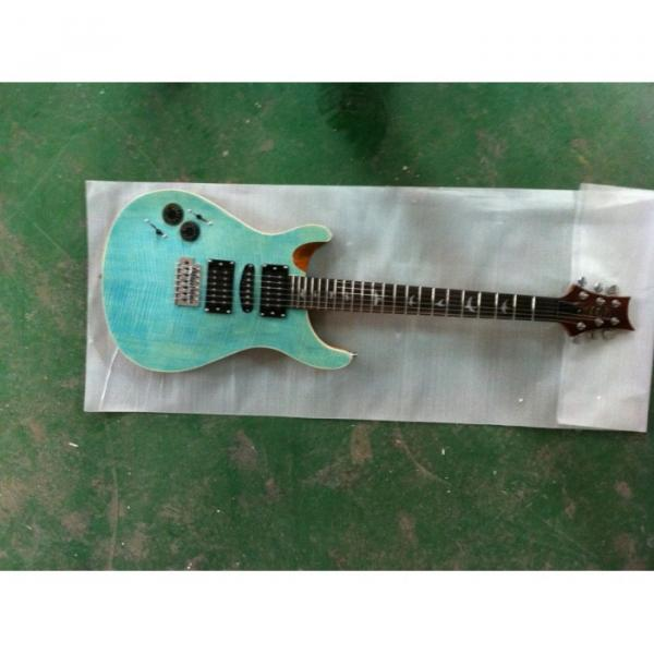 Custom Shop Paul Reed Smith Blue Tiger Electric Guitar