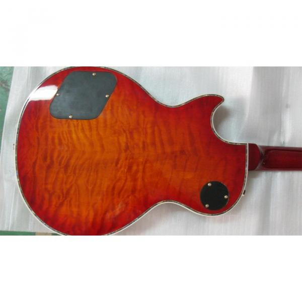 Custom Shop LP Flame Maple Top Red Iced Tea Electric Guitar
