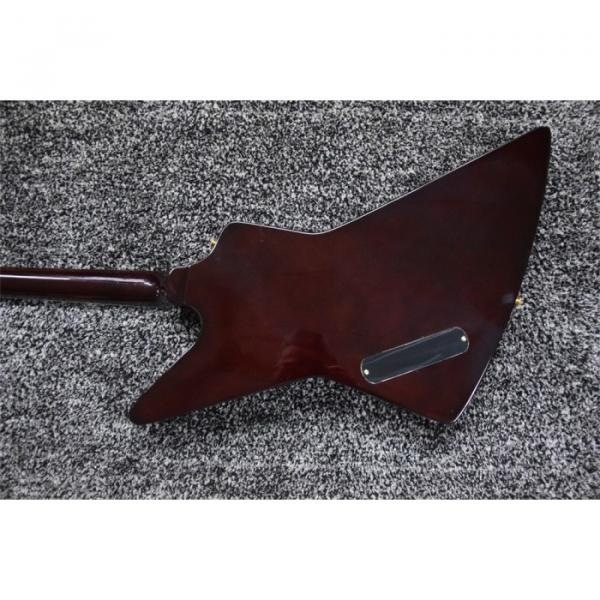 Custom Shop LP Explorer Korina Sunset Flame Maple Top Electric Guitar