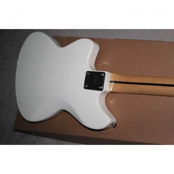 Custom Shop Kurt Cobain White Jaguar Jazz Master Electric Guitar
