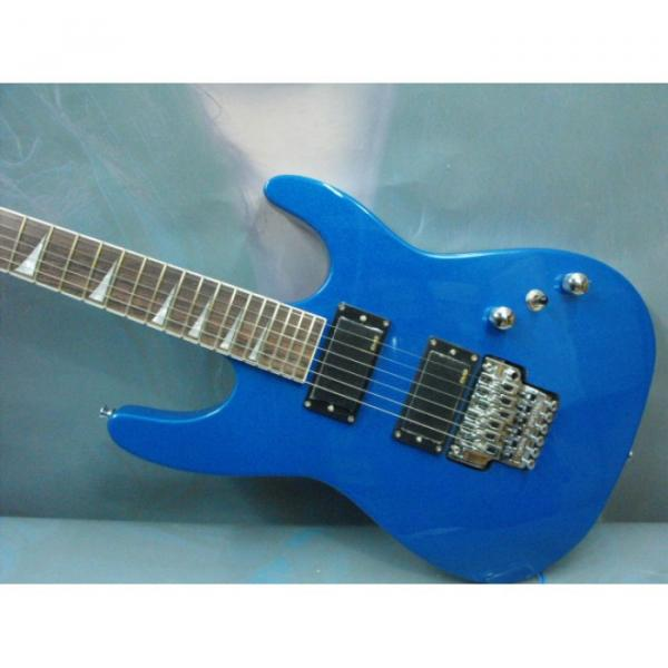 Custom Shop Jackson Soloist Blue Electric Guitar