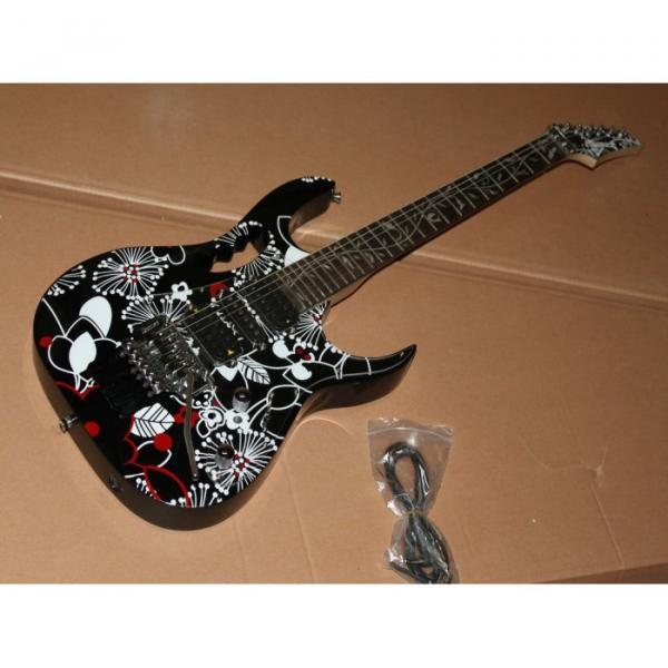Custom Shop Ibanez Jem Flower Electric Guitar