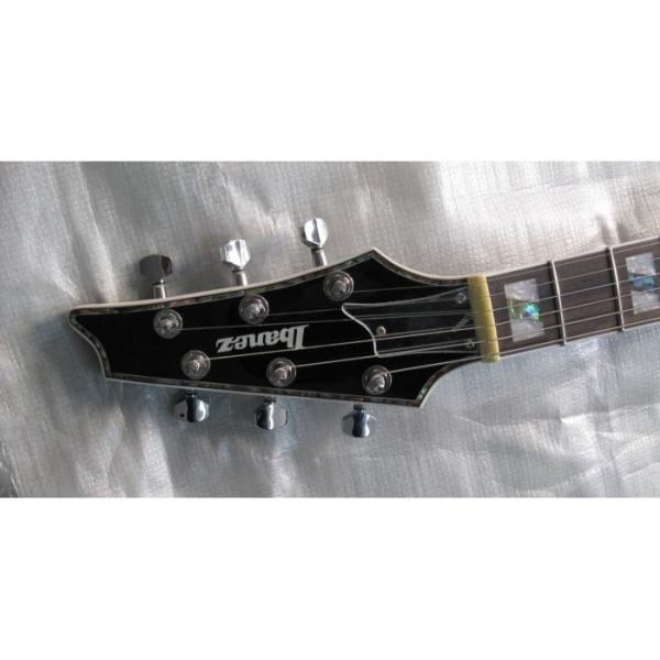 Custom Shop Ibanez Black Iceman Electric Guitar