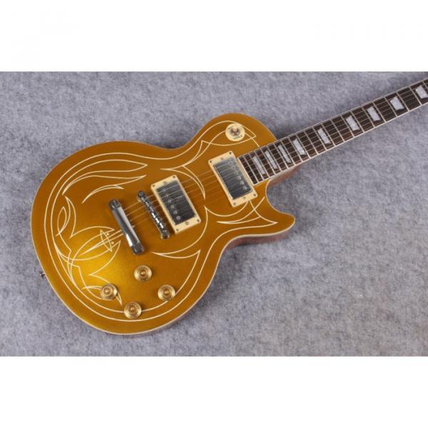 Custom Shop Gold Top LP Unique Design VOS Electric Guitar