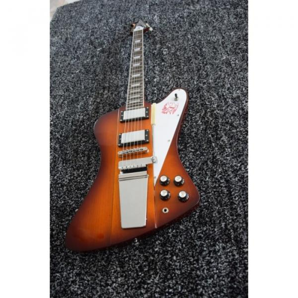 Custom Shop Firebird VII 7 Iced Tea Electric Guitar Maestro Vibrola