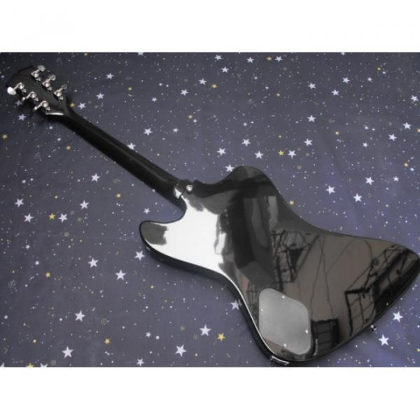 Custom Shop Firebird Silver Burst Color Electric Guitar