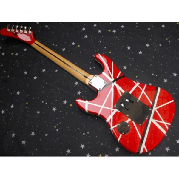 Custom Shop EVH 5150 Red White Electric Guitar