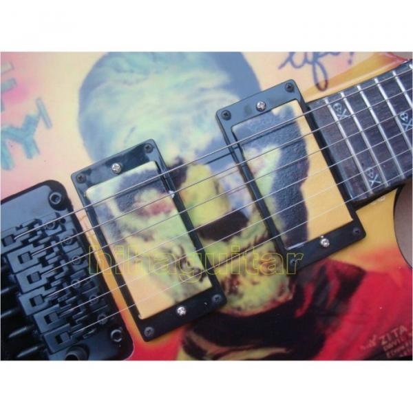 Custom Shop ESP Karloff Mummy Black Electric Guitar