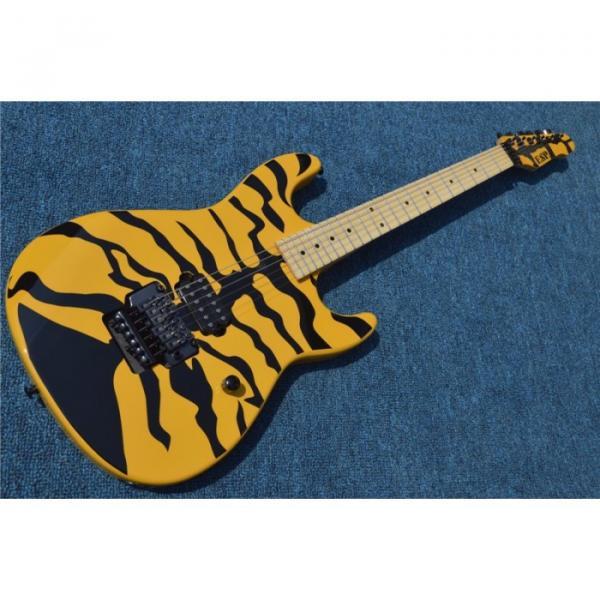 Custom Shop ESP George Lynch 6 String Yellow Tiger Electric Guitar